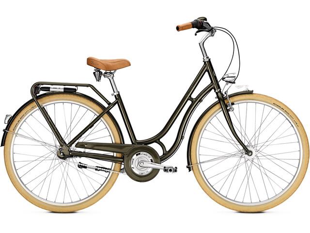 Kalkhoff City Classic 7R - Vélo de ville Femme - olive